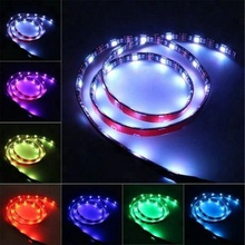 DC 5V USB Powered TV LED Strip Kit 5050 SMD RGB Color 2FT for Flat Screen, PC <strong>Monitor</strong>