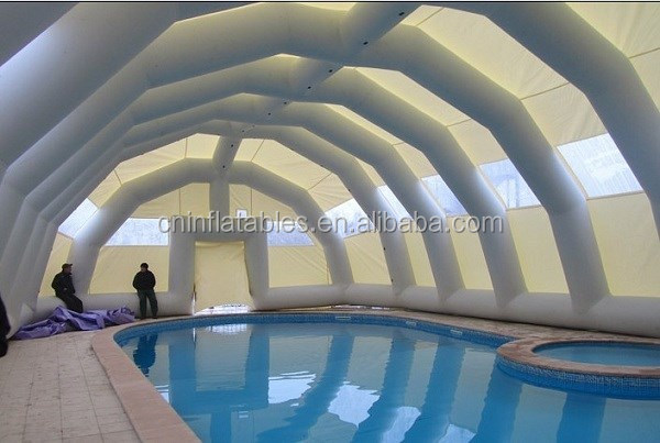 hot sale inflatable pool cover for cheap price/inflatable tent