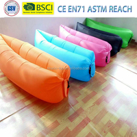 2016 New Functional Outdoor One Mouth Inflatable Lazy Hangout Sleeping Air Bag, Lay Bag Gojoy Air Sofa Beach Sofa Lounge Laybag