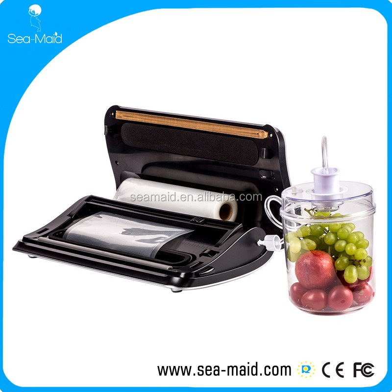 100-240V mini vacuum packing machine household food vacuum sealer