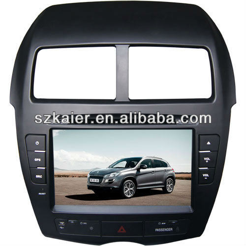 car dvd gps for Peugeot 4008 with GPS/Bluetooth/Radio/SWC/Virtual 6CD/3G internet/ATV/iPod/DVR