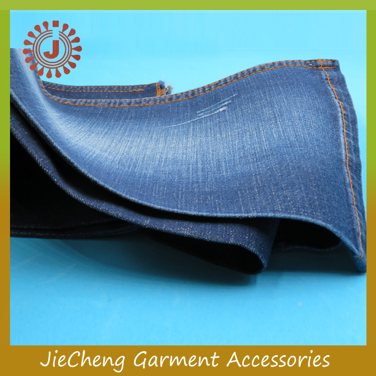 stocklot 2017 wholesale china supplier 8.6 oz brand women stock denim jeans fabric