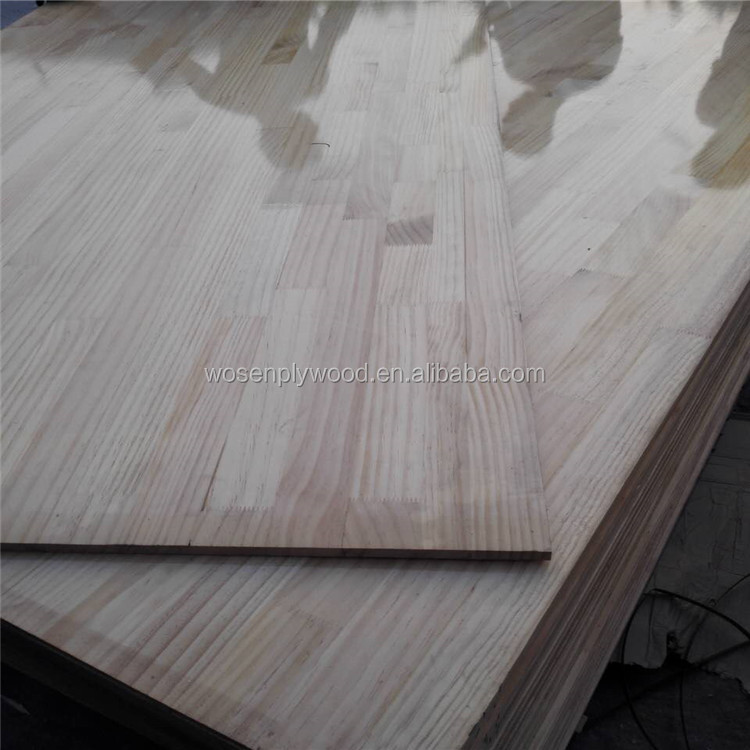 18mm uv coated finger joint board laminated finger joint board