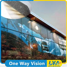 China factory promotional one way vision removable vinyl