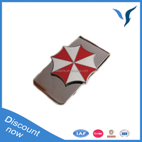 low price metal wallet customize logo for metal wallets
