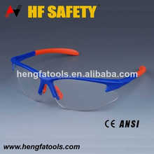 High quality safety glasses soft rubber nose pad working safety glasses
