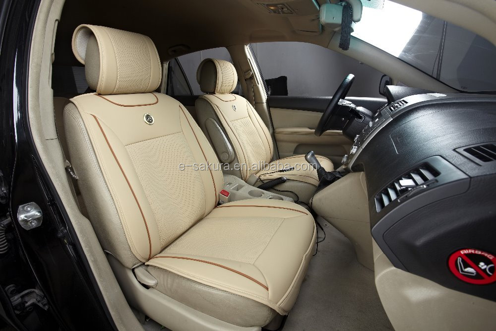 2016 New Fashion Waterproof Leather Car Seat Covers For