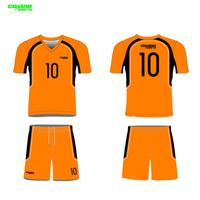 OEM service wholesale customized football shirt and short