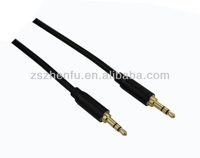 Mobile Aux Cable - Step Down Design accommodates SmartPhones and MP3 cases