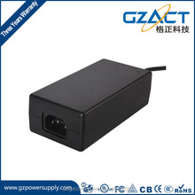2016 cheap factory price dc type desktop power adapter output 24v 3a power supply CE UL TUV PSE SAA RoHS approval in China