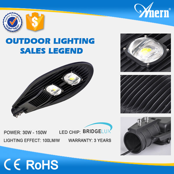 Low maintenance charge die cast aluminum led street light housing with CE RoHS