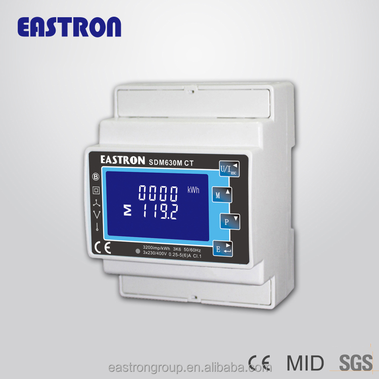 3 Phase Power Monitor : Phase energy meter power monitor ce