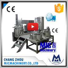 Mic-500L Excellent Manufacturer Cosmetics Homogenizing Emulsifying Mixer Machine