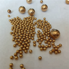 2018 decoration H62% 1.0mm Small Solid Copper Ball