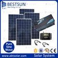 solar power system 1000w BFS-1kw complete system for home BestSun design solar energy