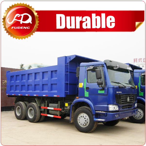 Sinotruk howo hp336 6x4 25 ton 10 tires sand tipper truck for sale