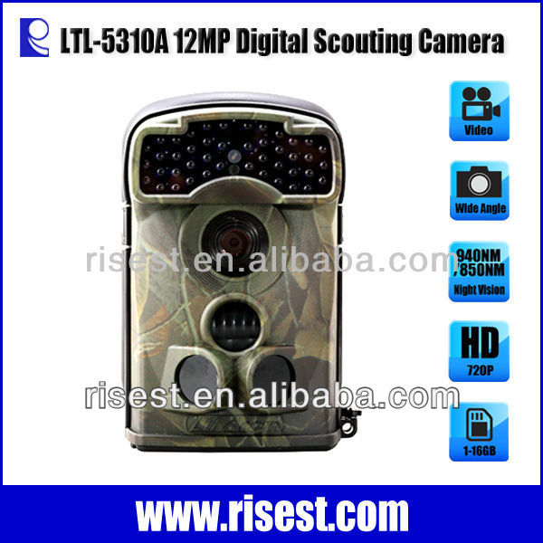 12MP Wireless Hunting Game Camera with motion detection Night Vision
