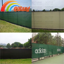 Supply 100% virgin HDPE privacy screen/privacy hek screen op bouwplaats