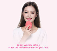 Mini electric facial cleansing brush makeup cleansing tool manufacturers