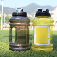 Half Gallon Petg BPA Free Plastic Water Jugs with Pocket