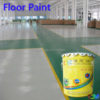 Non slip waterproof oil proof epoxy mortar floor coating tools