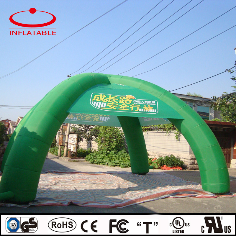four legs advertising inflatable beach tent, inflatable promotion tent, infaltable dome tent
