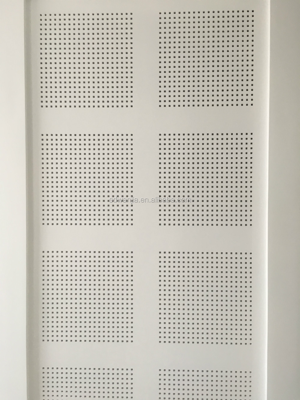 Acoustic perforated gypsum board price buy