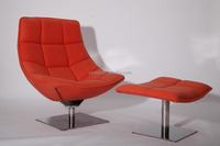 Markus Jehs and Jurgen Laub lounge chair and ottoman replica