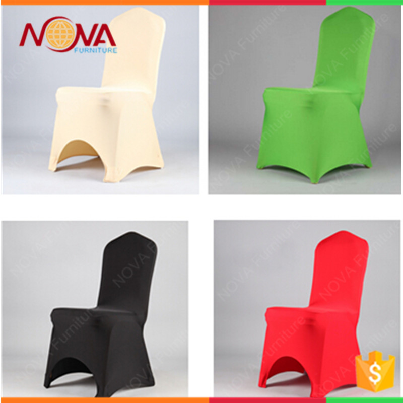 Colorful modern wholesale cheap stretch spandex chair covers for sale