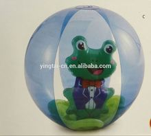 clear plastic christmas balls frog pvc beach ball inflatable balloon