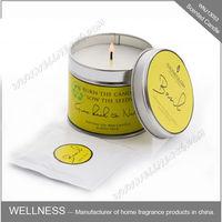 Wholesale aroma aluminium tin candle for home use