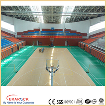 Professional PVC sports vinyl floor roll indoor prevent slippery flooring for gym courst basketball