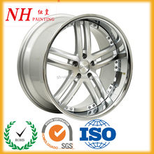 Mirror hyper silver sparkle wheel Powder Coating Paint