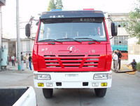 Hot sale Shaanxi professional 6X4 fire fighting truck
