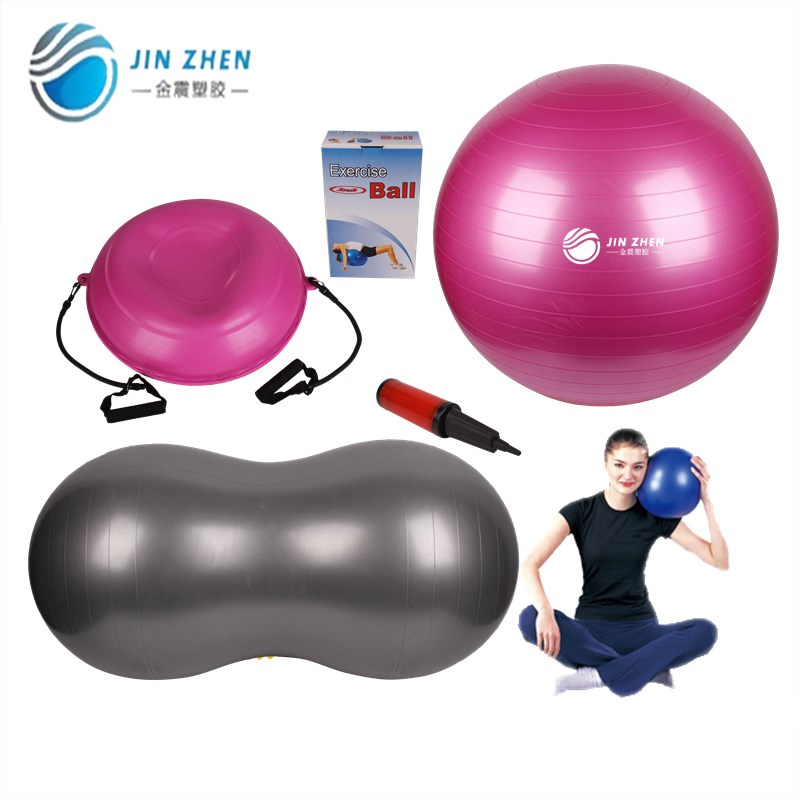 Various kinds Smooth faced Exercise ball