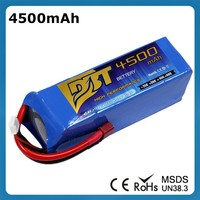 14.8V 4500mAh 4 Cell 25C Lipo Battery Pack for RC Quadcopters Helicopters Airplanes