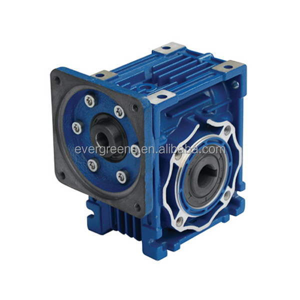 NRMV075 worm 1:10 ratio gearbox