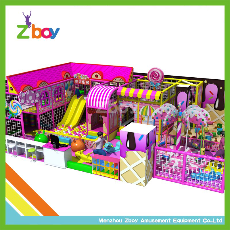 Zboy Small Indoor Playground Equipment with Best Price