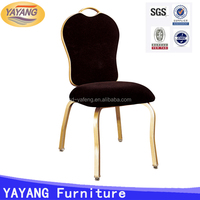 Newly design steel luxury chiavari wedding banquet catering chair used hotel furniture for sale