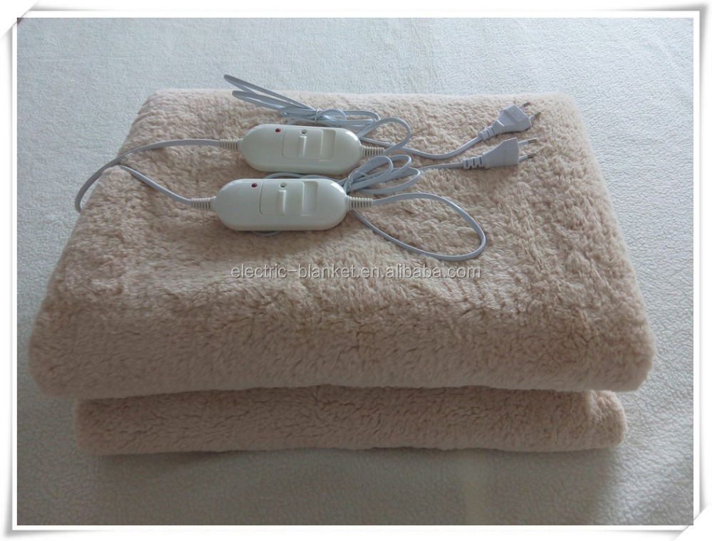 Custom thermal Synthetic wool Electric Blanket for relieving pain