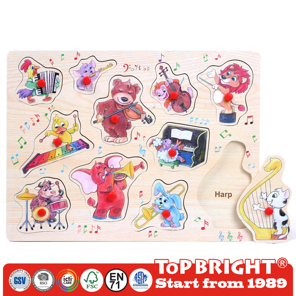 wholesale promotional custom magic jigsaw wooden puzzle cube manufacturers