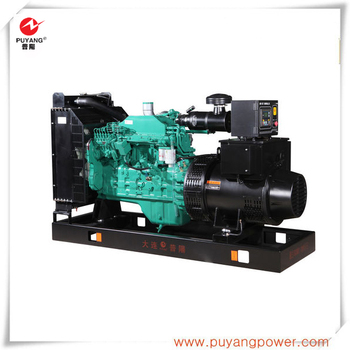 50Hz 100kVA/80kW Soundproof diesel generator made in china