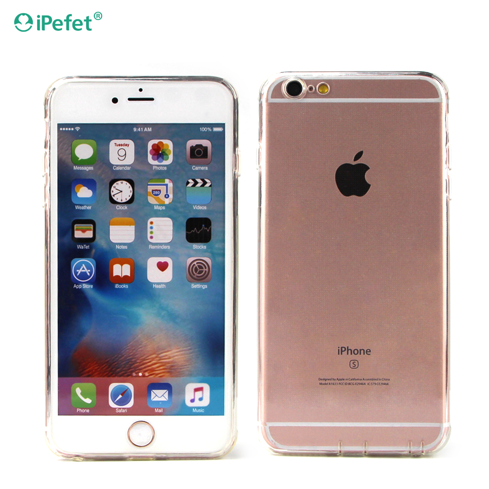 Hot Transparent TPU phone case back cover for iPhone 7/7 plus 4.7 and 5.5 inch
