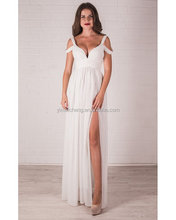 White Special occasion women dress Open back dress Prom Long evening gown