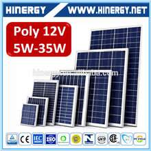High Quality Small Solar Modules 12V 24V 5W 10W 15W 20W 25W 30W PV Solar Panel