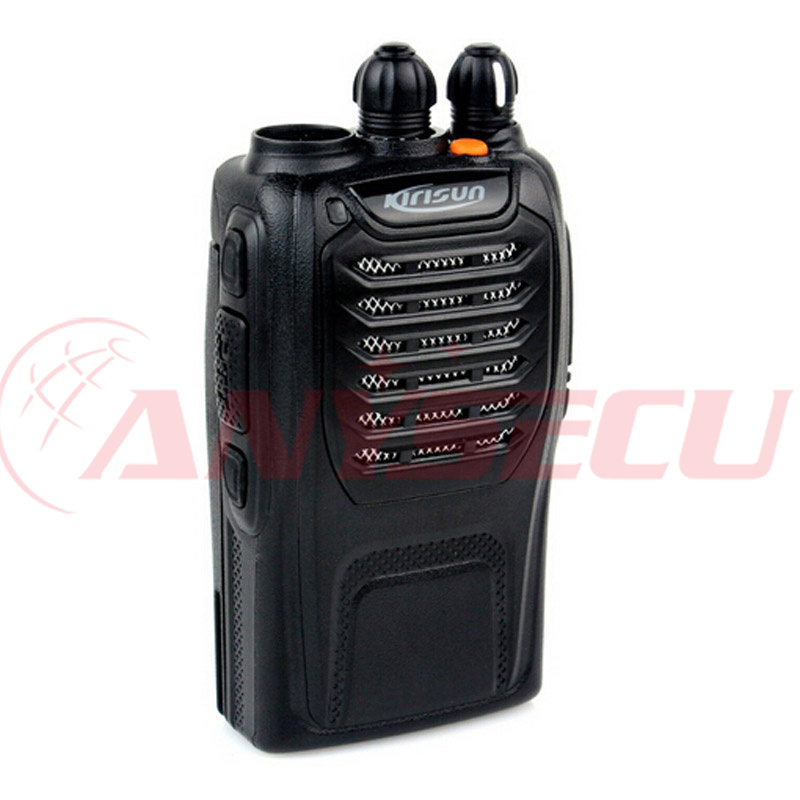 "professional 2 way radio Kirisun PT558 Licence-Free Pro Walkie-Talkie strong alloy chassis lithium-poly <strong>battery</strong> ""drop-in"" charge"