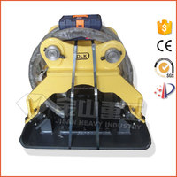 Korean technology hydraulic vibratory soil compactor for excavator