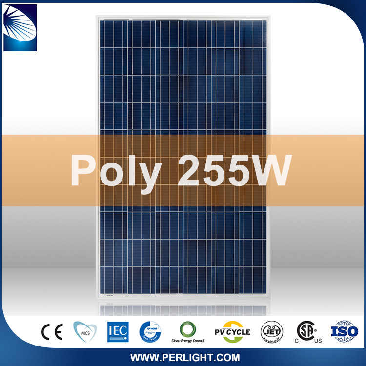 Low Price Assured Quality Latest Design Hot Selling 250 watt photovoltaic solar panel
