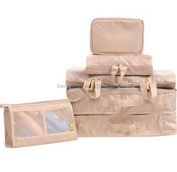Best selling OEM & custom polyester zippered blanket storage bag