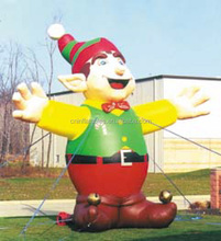Inflatable christmas elf,Top Sale Holiday Theme Inflatables from audiinflatables